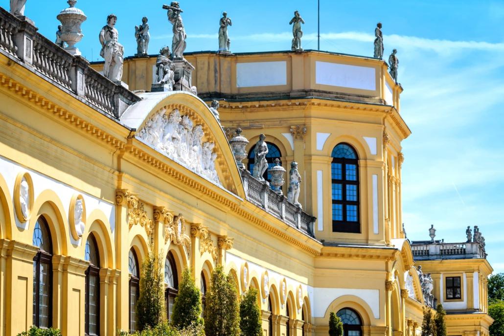 Barockschloss Orangerie - Kassel